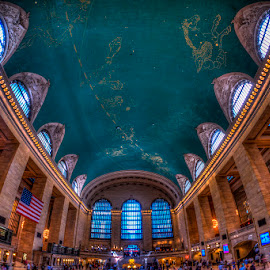 Grand Central Station by Rafael Quirindongo - Buildings & Architecture Architectural Detail ( train station, grand central, train, nyc, metro north )