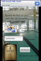 Screenshot of Finger Swimmer