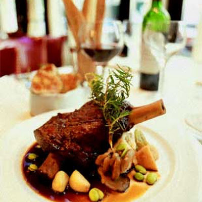 Tom Valenti's Lamb Shanks