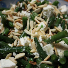 Green Bean Salad With Pine Nuts and Feta