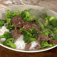 Stir-Fried Beef and Broccoli