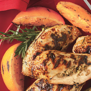 Stuffed Chicken Breasts with Rosemary-Orange Dressing