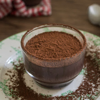 Egg-less Chocolate Custards