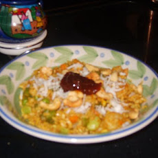 Curried Shrimp With Brown Rice