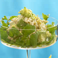 Crab and Avocado Mimosa