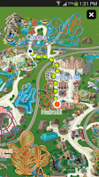 Screenshot of Busch Gardens Discovery Guide
