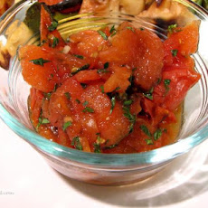 Fire Roasted Tomato Salad