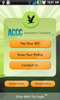 Screenshot of ACCC Insurance