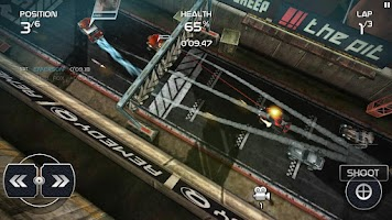 Screenshot of Death Rally