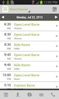 Screenshot of Barre Evolution