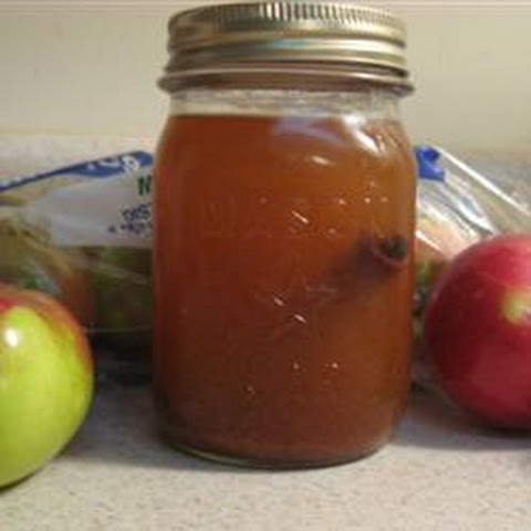 Apple Pie in a Jar Drink
