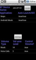Screenshot of Bluetooth App. Launcher (Free)