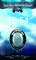 Screenshot of Fingerprint Locker GPS Free