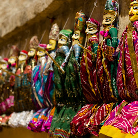 The Rag Dolls of Rajasthan... by Avishek Patra - Artistic Objects Toys ( doll, toy, dolls, rajasthan, toys, rag dolls, colors of india, children, cloth doll, india, colorful dolls )