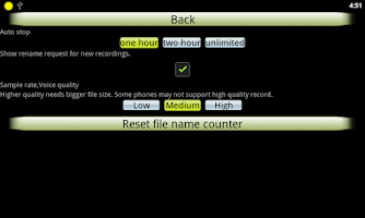 Screenshot of Audio Recorder