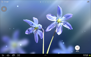 Screenshot of Galaxy S4 Blue