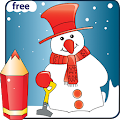 Coloring Christmas - Kids game 1.5 icon