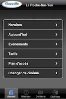 Screenshot of TOUT CINÉVILLE SUR MOBILE