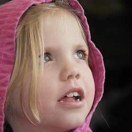 Looking Out the Window by Deanna Ramsay - Babies & Children Children Candids ( child, girl, window, children, pink,  )