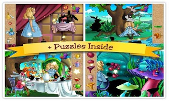 Screenshot of Alice in Wonderland Kids Book
