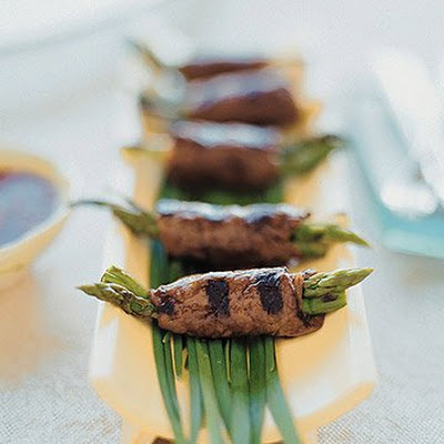 Beef and Asparagus Negimaki