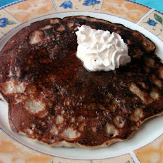 Rolled Oats and Pecan Pancakes