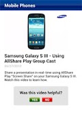 Screenshot of Samsung SPSN Canada