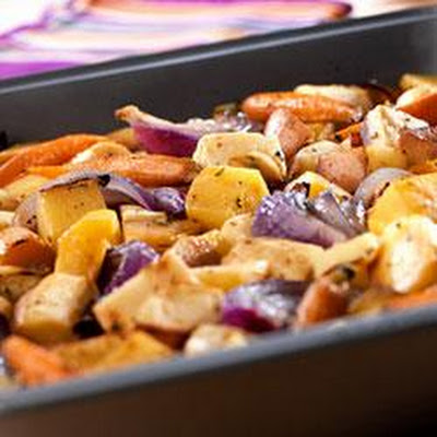 Oven-Roasted Root Vegetables