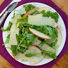 Serious Salads: Arugula, Apples and Manchego in Cider Vinaigrette