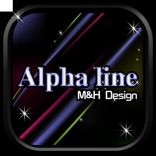 Alpha Line GO Launcher EX 個人化 App Store-愛順發玩APP