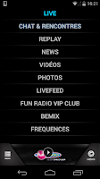Screenshot of Fun Radio