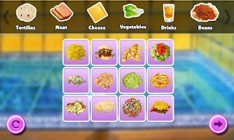 Screenshot of Burrito Maker