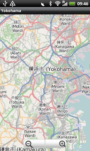 Yokohama Street Map