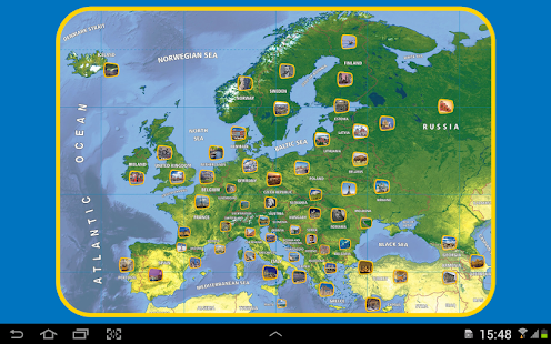Appuzzle Europe - screenshot