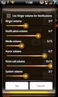 Screenshot of Mixer Rustic - CM7 Theme