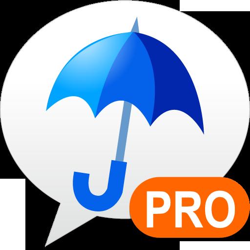 雨降りアラートPRO - お天気ナビゲータ 天氣 App LOGO-硬是要APP
