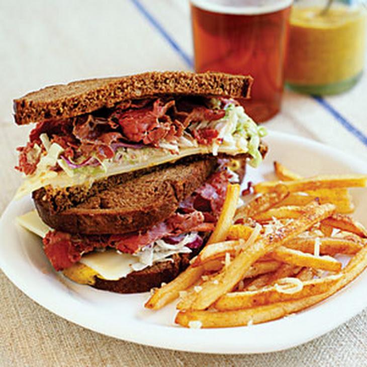 Hot Pastrami Sandwiches