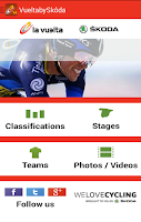 Screenshot of La Vuelta'14 by ŠKODA