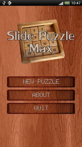 Slide Puzzle Max