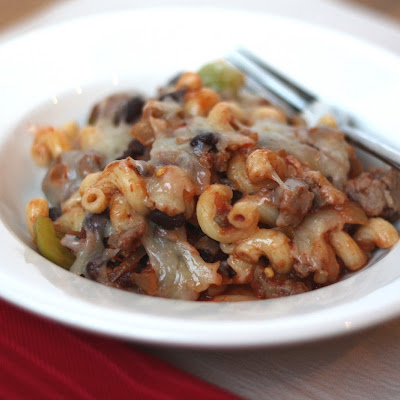 Baked Mexican Pasta