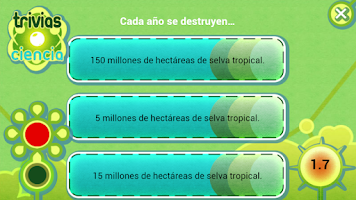 Screenshot of Trivias Ciencia