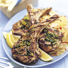 Grilled Lemon-Parsley Veal Chops