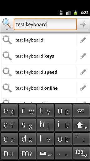 Slidy Press Keyboard