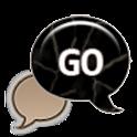 GO SMS - Cracked Stone icon