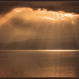 Lake Ohrid by David Solodar - Landscapes Cloud Formations ( ohrid, lake )
