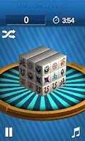 Screenshot of Mahjong Cubes