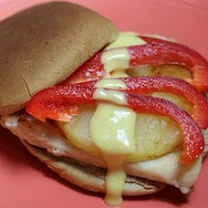 Grilled Pineapple Chicken Sandwiches