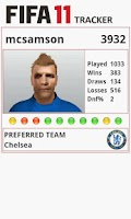 Screenshot of Tracker - For FIFA 11