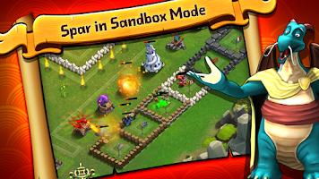 Screenshot of Battle Dragons:Strategy Game