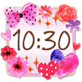Download Cute Clock Widget 2 【FREE】 APK for Android Kitkat
